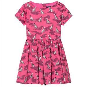 Lands' End Dalmatian Print Dress Girls size 14